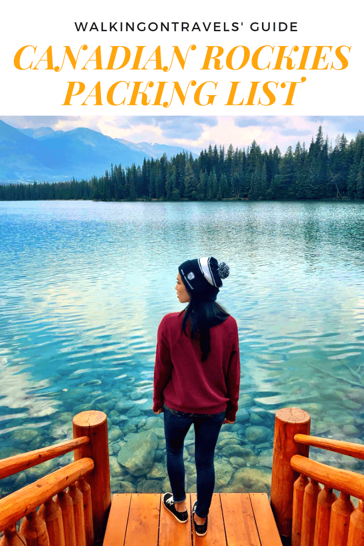 Taking a journey on the Rocky Mountaineer train requires some extra planning when it comes to packing for the Canadian Rockies through Banff National Park and Jasper National Park in Alberta Canada. We've got you covered with our best packing tips, travel shoe recommendations, train outfits, seasonal switch ups, capsule wardrobes and more. #alberta #rockymountaineer #banff #jasper #trains #canadianrockies #packinglist