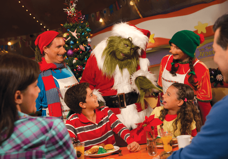 Grinch Character Breakfast