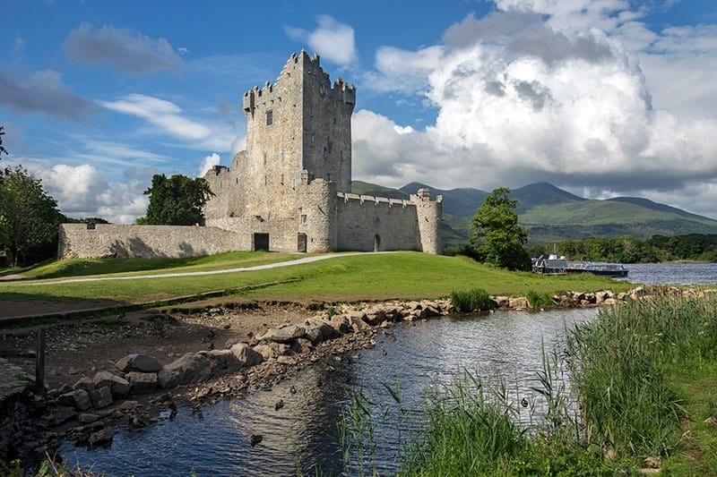 Ross Castle Killarney Ireland