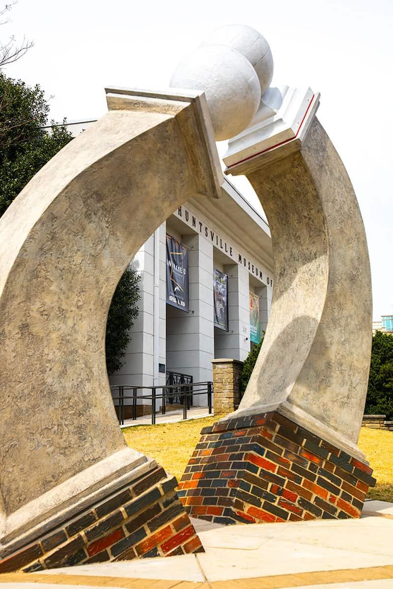 Huntsville Art Museum in Huntsville Alabama