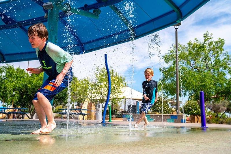 Kiwanis Park Splash Pad