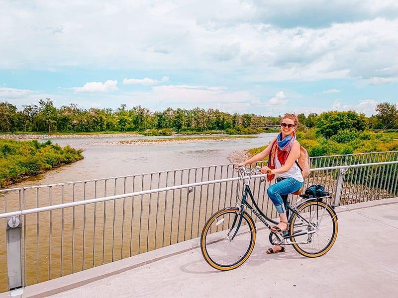 Bow River Pathway Calgary Canada