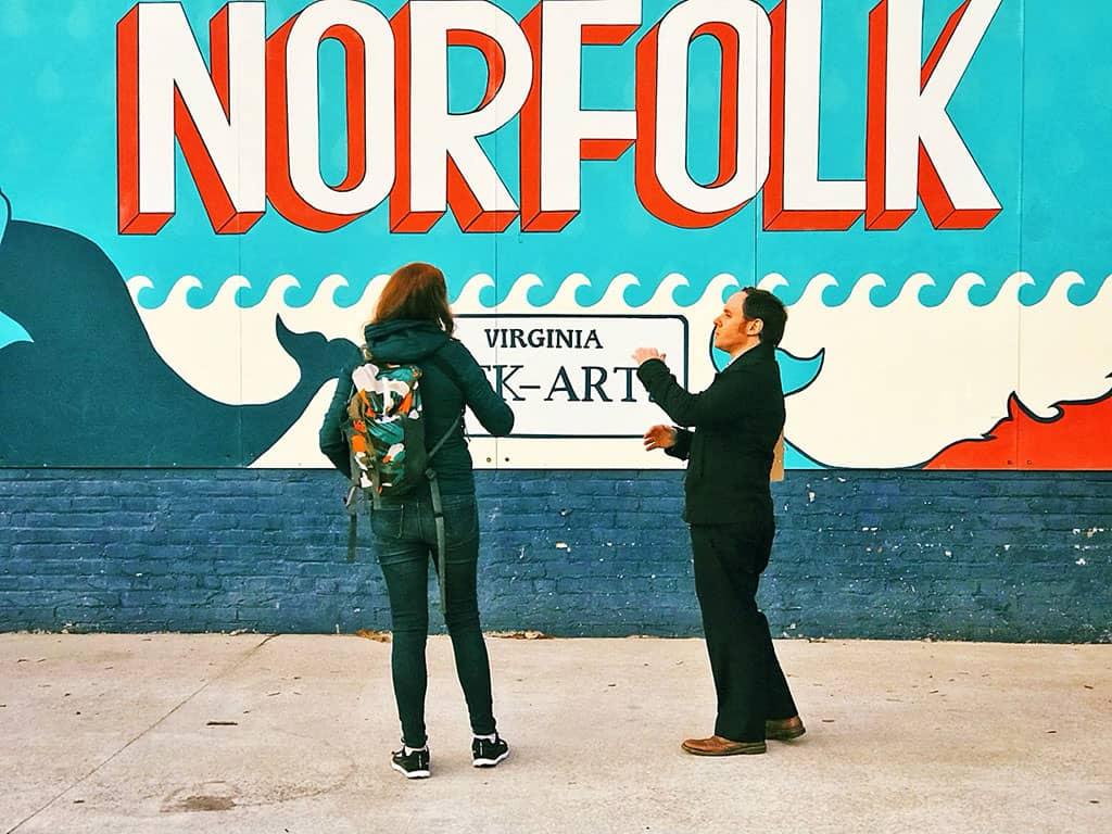 Norfolk VA NEON District