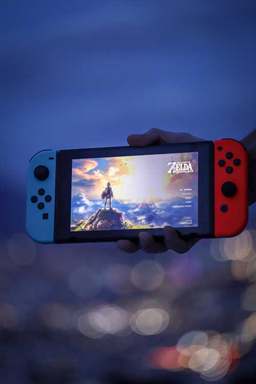 NINTENDO SWITCH GAMES FOR Families