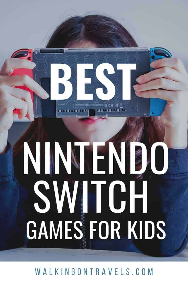 Best Nintendo Switch Games for Kids who Travel