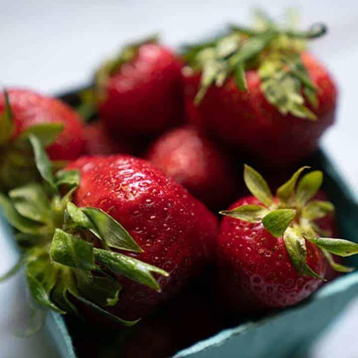 Homemade Strawberry Ice Cream