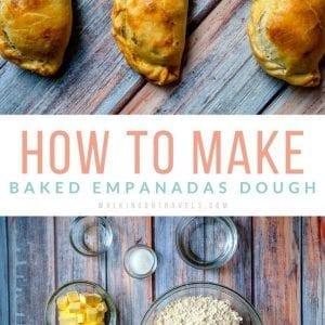 Baked Empanada Dough