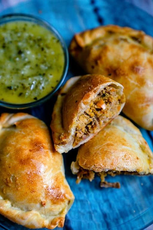 Mojo Pork Empanadas
