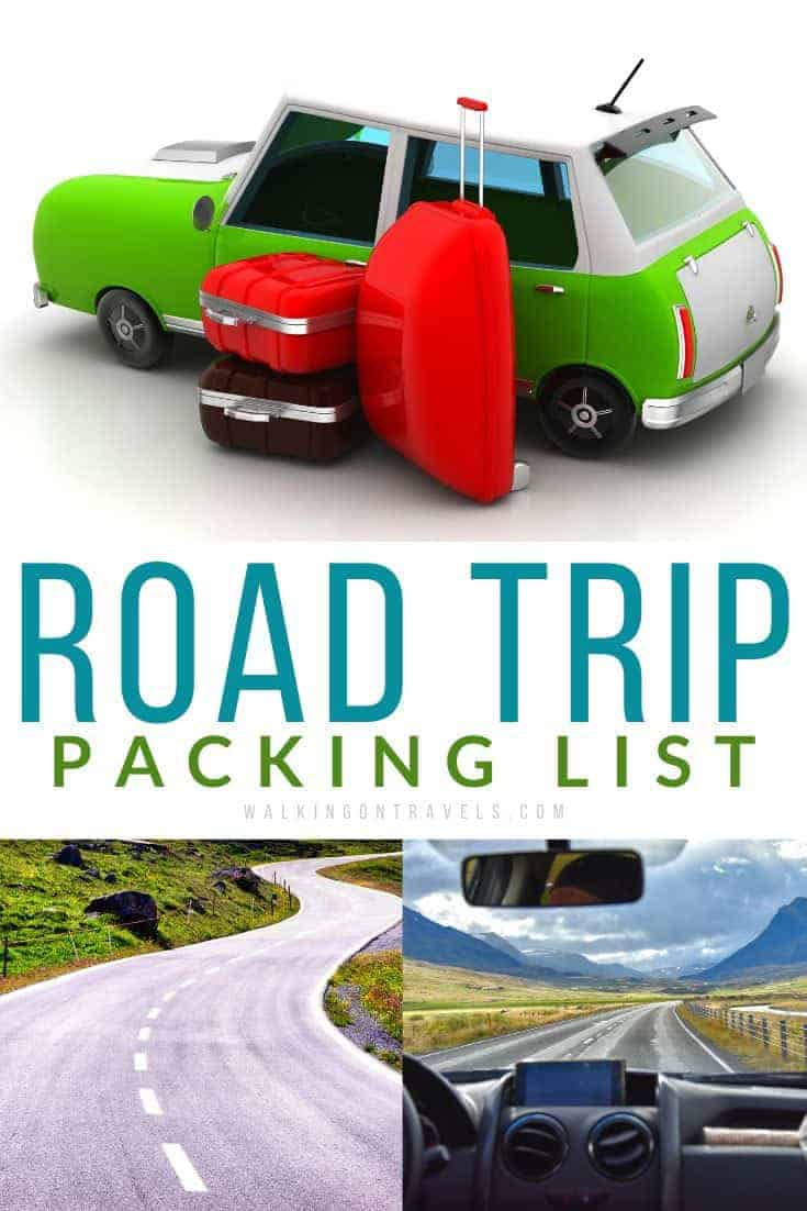 Essential Road Trip Packing List for safe travel
