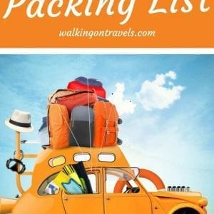 Road Trip Packing List