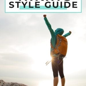 Hiking Packing List for women