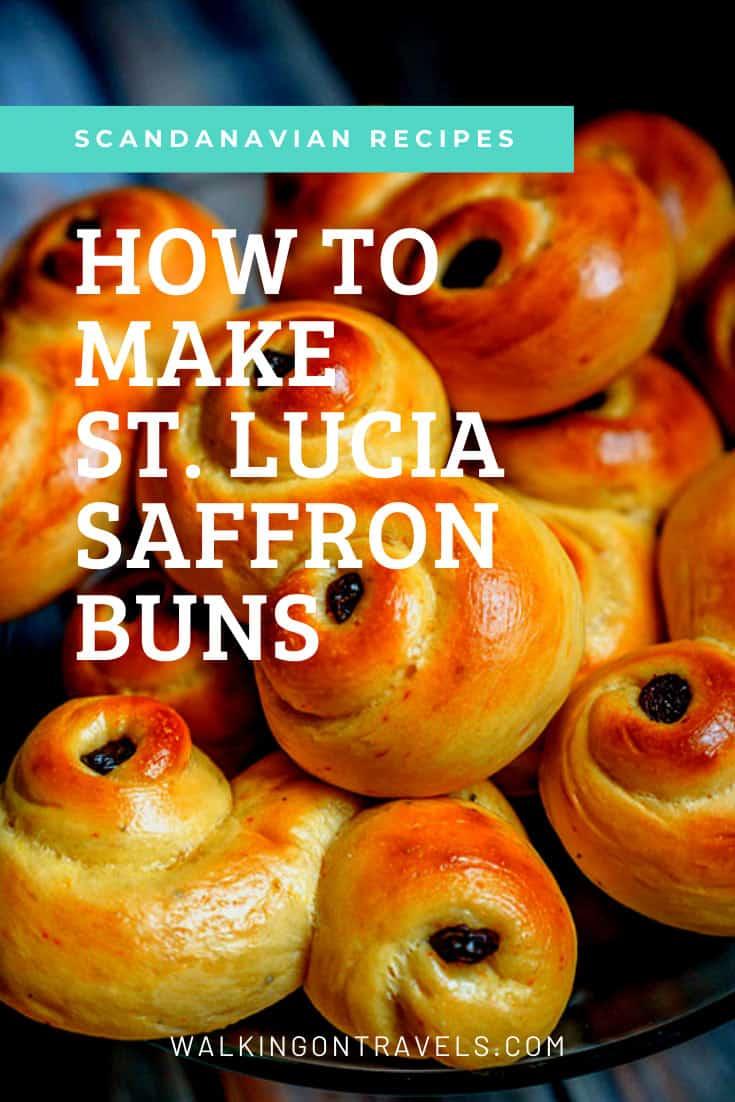 Swedish Saffron Buns