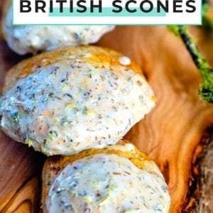 Earl Grey Tea Scones