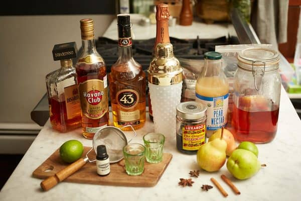 Pear Cocktails