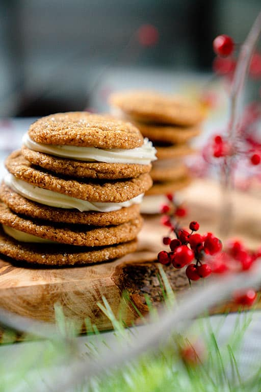 best gingerbread sandwich cookies