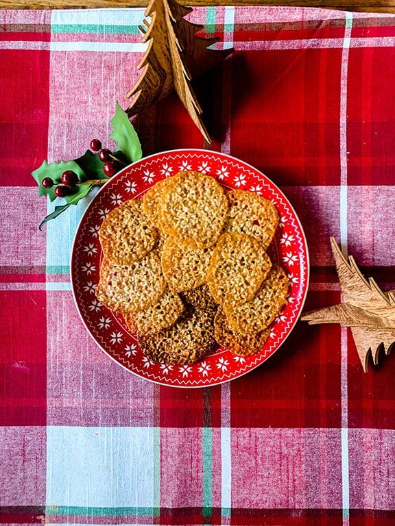 Gluten-Free Irish Lace Cookies