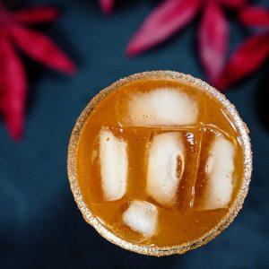pumpkin whiskey cocktail