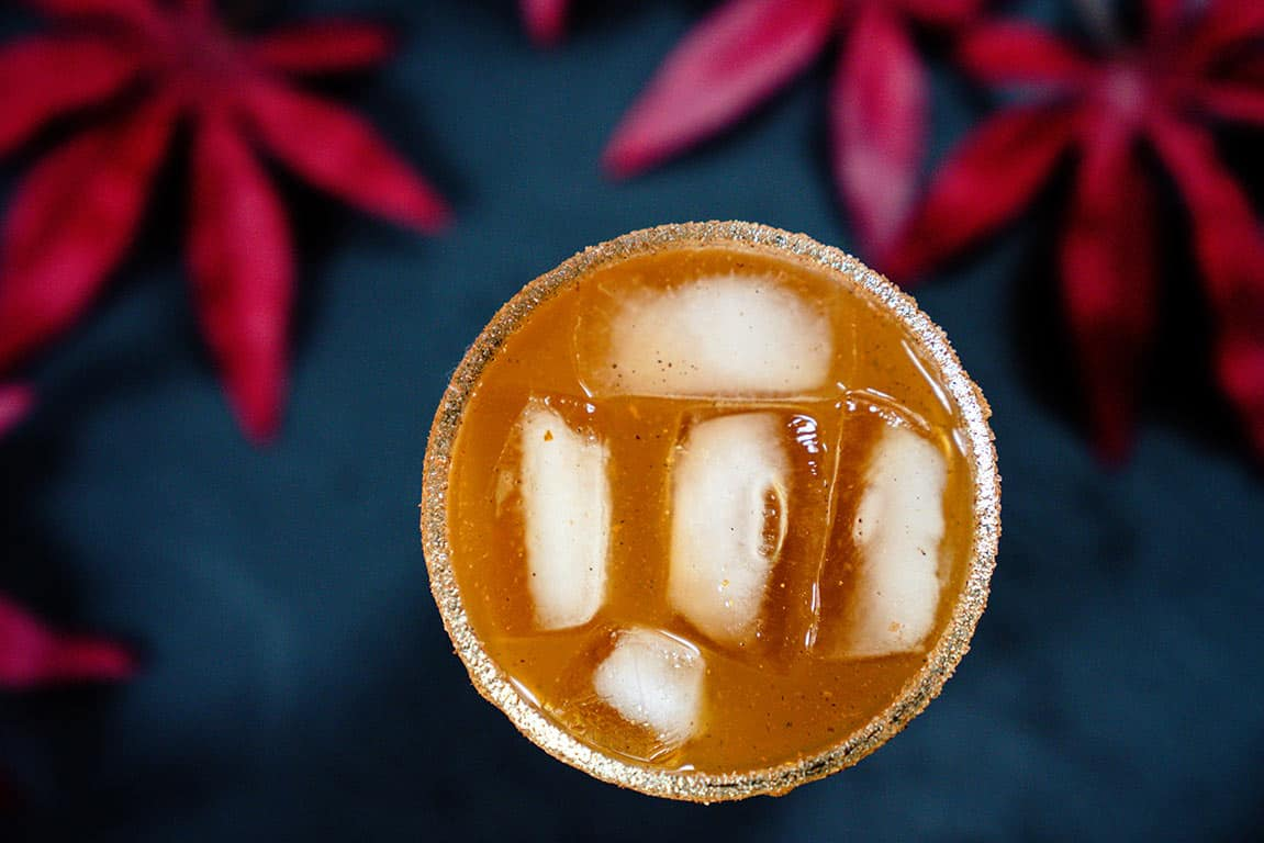 pumpkin whiskey cocktail
