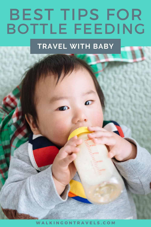 Bottle feed a baby