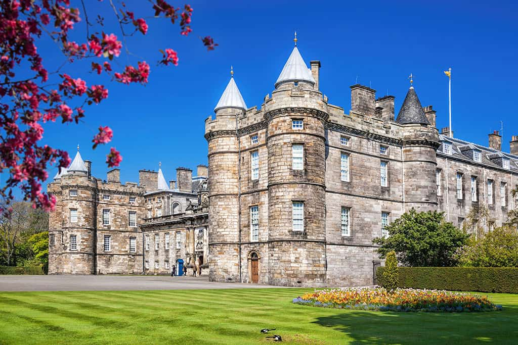 Holyrood Palace Edinburgh Scotland