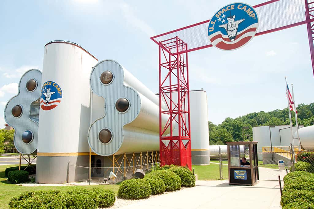 Space Camp at the NASA US Rocket and Space Center in Huntsville Alabama