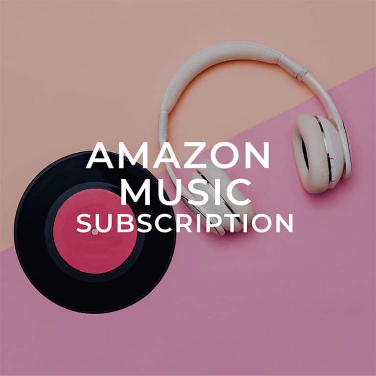 Amazon Music Subscription
