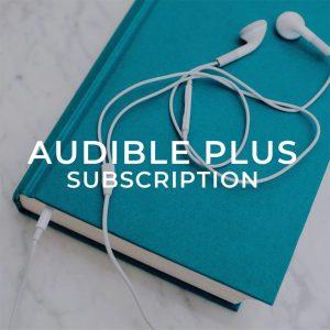 Audible plus subscription