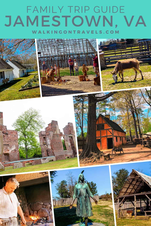 5 Family Vacation Itineraries to Jamestown VA