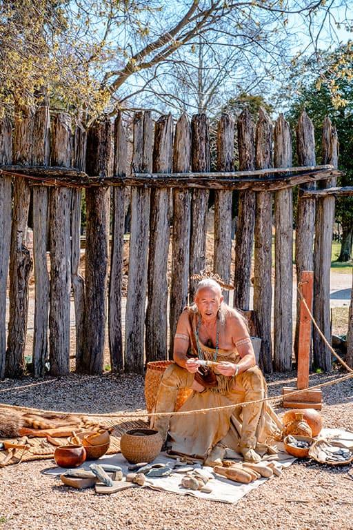 Historic Jamestowne in Virginia