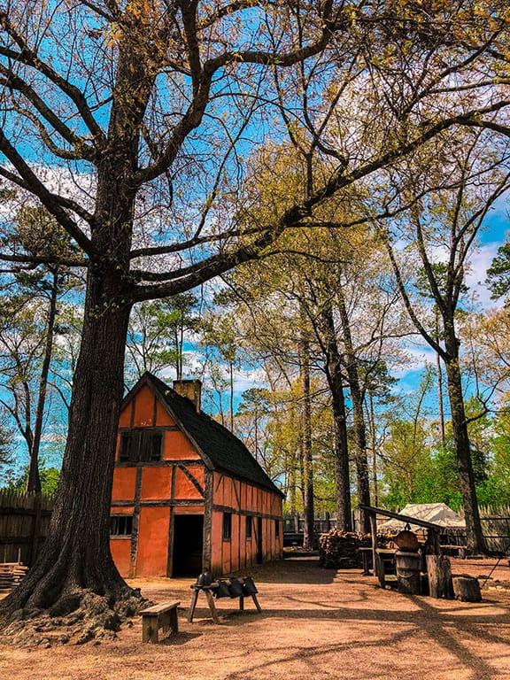 Jamestown Settlement in Jamestown Virginia