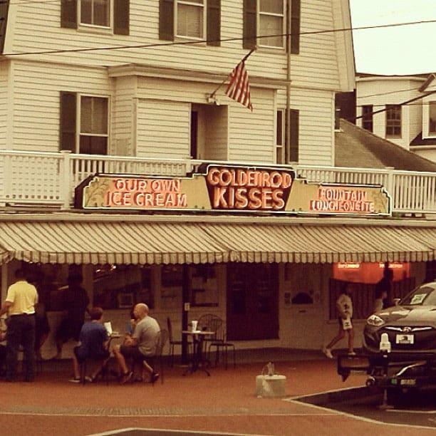 York ME Goldenrod Kisses