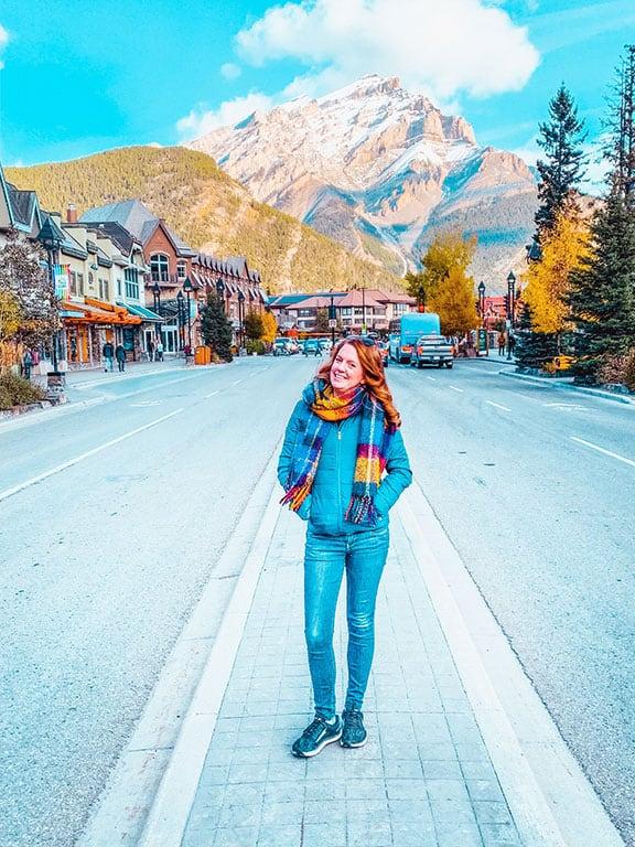 Main Street in Banff Alberta Canada