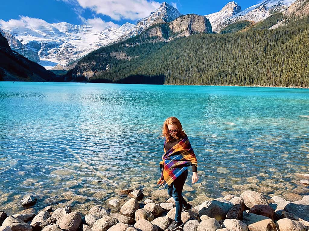 Lake Louise in Alberta Canada